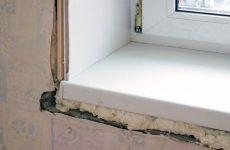 Как правильно установить подоконник в комнате