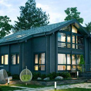 Проекты для строительства домов из клееного бруса