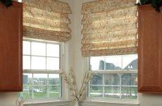 Жалюзи, рулонные и римские шторы
