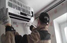 Монтаж кондиционера. Видео