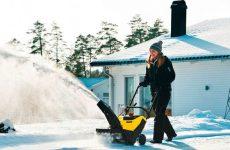 Выбор снегоуборщика для дачи