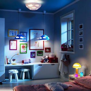 Выбираем светильник в детскую комнату